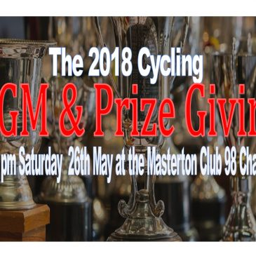 2018 Cycling AGM and Prize giving